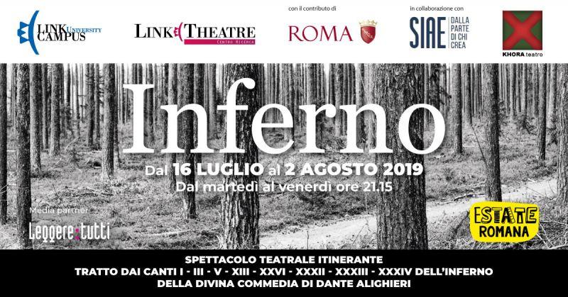 Spettacolo teatrale - Progetto Inferno - Copertina