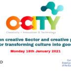 O-City-seminar on creative sector_13.1.2021